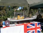 The Hull Model Boat Group display included Kingston Peridot built by W. Jefferson.